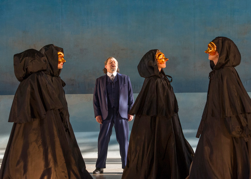 'Deat in Venice' Opera performed at Garsington Opera at Wormsley, UK