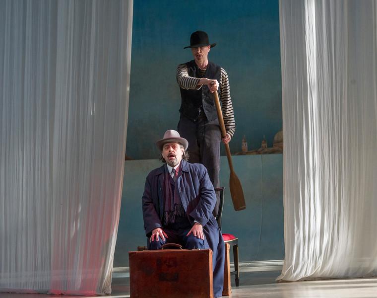'Deat in Venice' Opera performed at Garsington Opera at Wormsley, UK