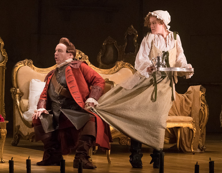 'Der Rosenkavalier' Opera performed by Opera North at the Grand Theatre Leeds UK