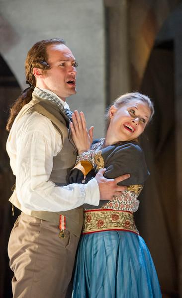 'Die Entfuhrung aus dem Serail' Opera performed  at Glyndebourne Opera, East Sussex, UK