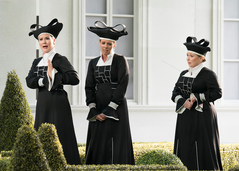 'Die Zauberflote' Opera performed at Garsington Opera, UK