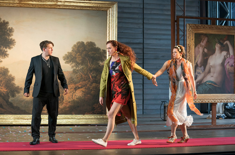'Don Giovanni' Opera performed at Garsington Opera,Wormsley, UK