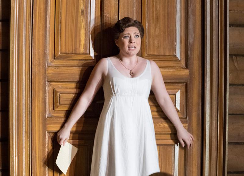 'Eugene Onegin' Opera performed at Garsington Opera, Oxfordshire, UK