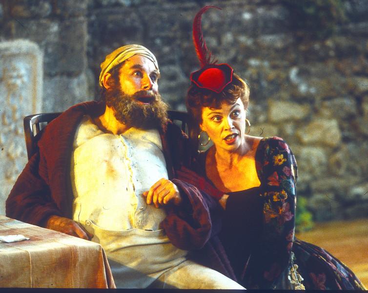 'Falstaff' Opera performed by Garsington Opera UK 1998