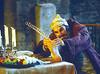 'Falstaff' Opera performed at Garsington Opera, UK 1998