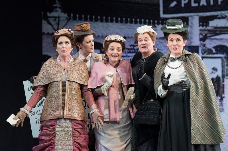 'Falstaff' Opera performed at Garsington Opera, Wormsley, UK