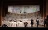 Falstaff. Opera performed by Grange Park Opera, Surrey, UK