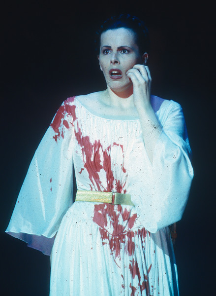 'Giovanna d'Arco' Opera performed by Opera North Company, Leeds,UK 1998