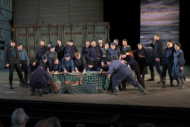'Idomeneo' Opera performed by Garsington Opera, Wormsley, UK