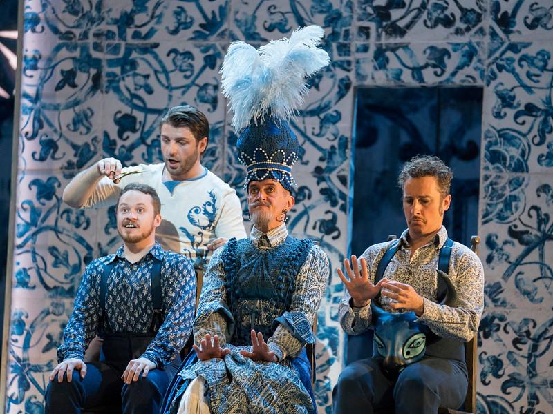 'Il Barbiere di Siviglia' Opera performed by Glyndebourne Opera, East Sussex, UK