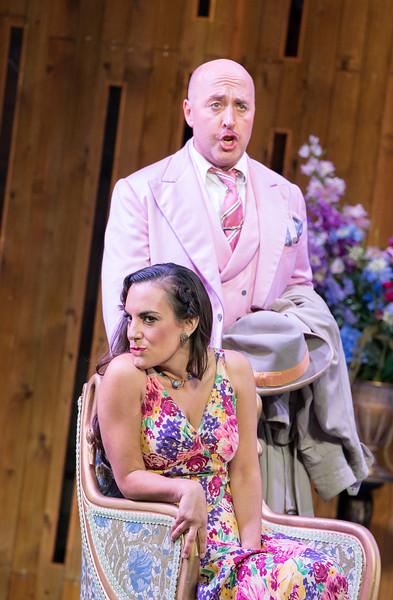'Il Segreto di Susanna' Opera performed by Holland Park Opera, London, UK
