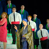 'L'Italiana in Algeri' Opera performed at Garsington Opera, Wormsley, UK