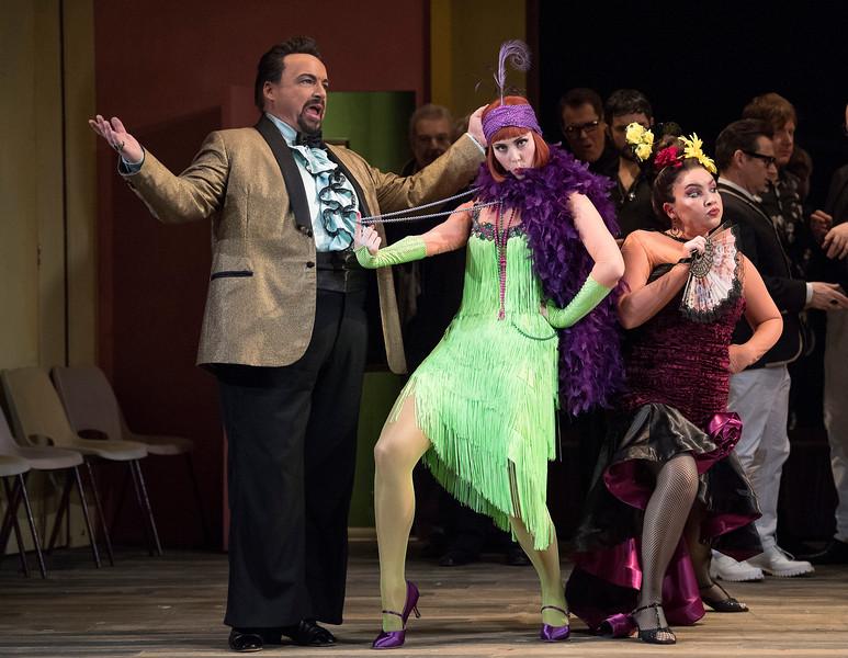 'La Cenerentola' Opera performed by Opera North at the New Theatre, Leeds, UK