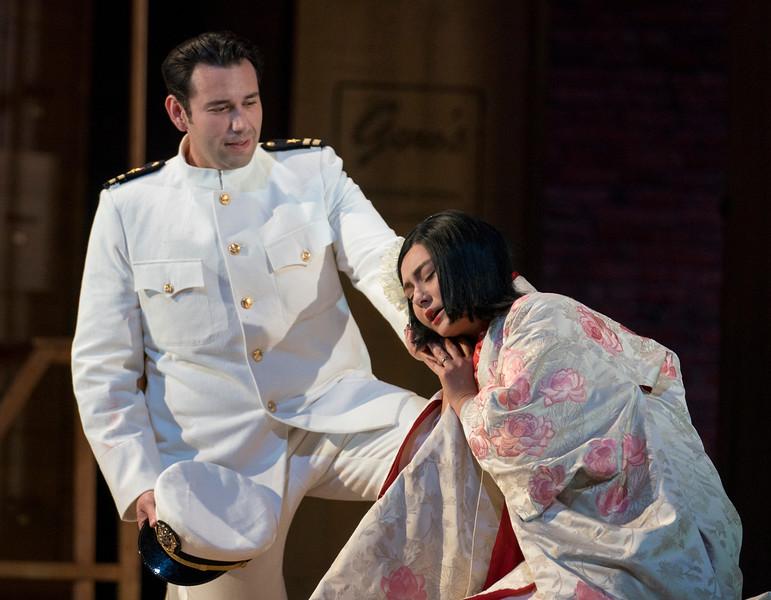 'Madama Butterfly' Opera performed at Glyndebourne Opera, East Sussex, UK