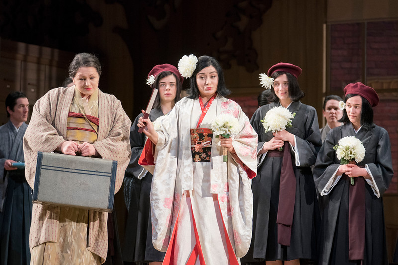 'Madama Butterfly' Opera performed at Glyndebourne Opera, East Sussex, UK