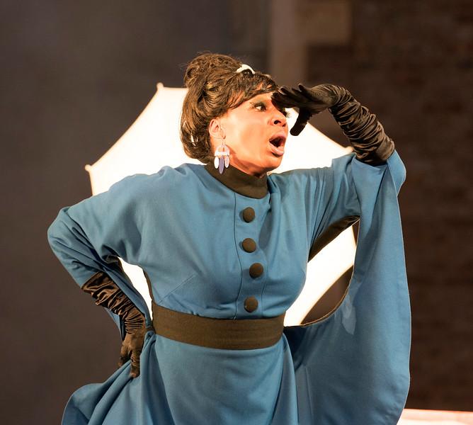 'Manon Lescaut' Opera performed at Opera Holland Park, London, UK
