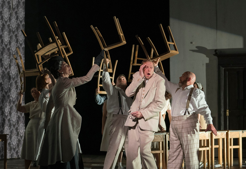 'Osud' Opera by Janacek performed by Opera North performed at the New Theatre, Leeds,UK
