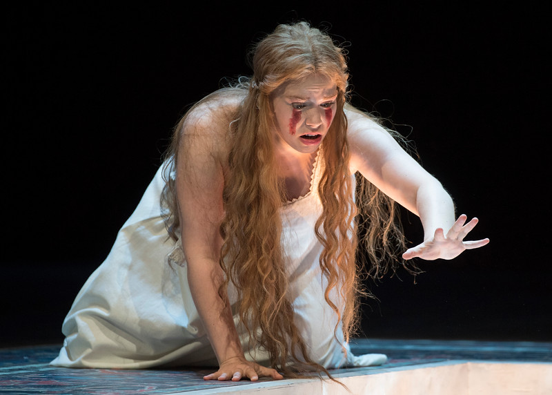 'Pelleas et Melisande' Opera performed by Glyndebourne Opera, E Sussex, UK
