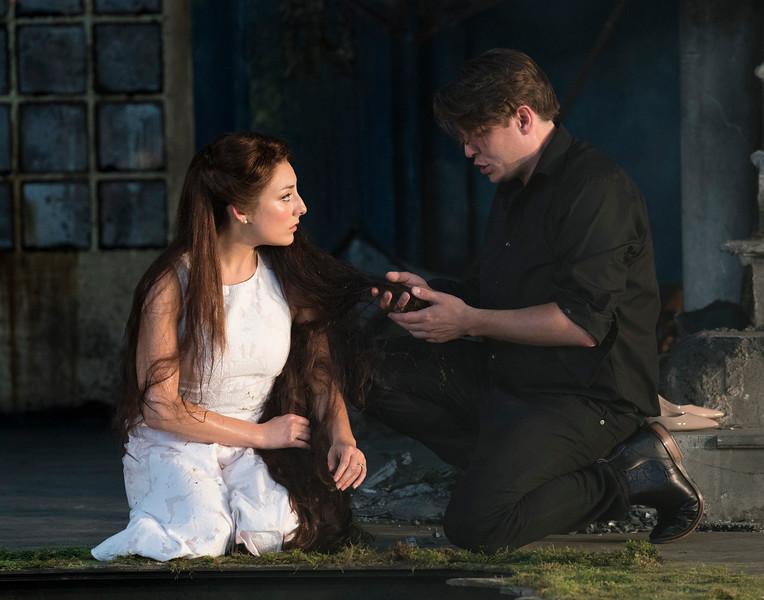 'Pelleas et Melisande' Opera performed at Garsington Opera at Wormsley, UK