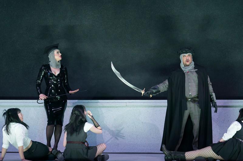 'Rinaldo' Opera performed by Glyndebourne Touring Opera at Glyndebourne, E Sussex, UK