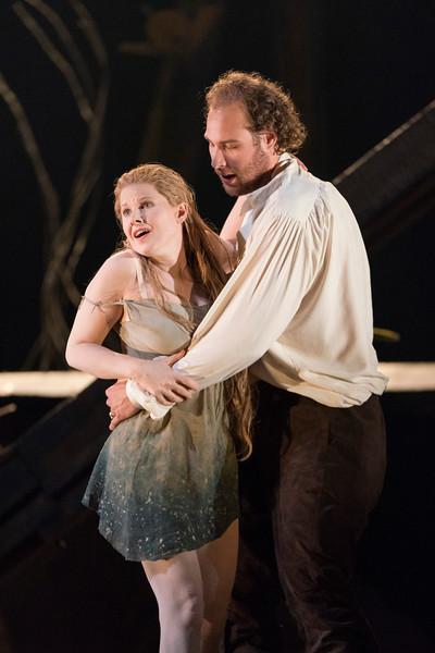 'Rusalka' Opera performed by Glyndebourne Opera Company, East Sussex, UK