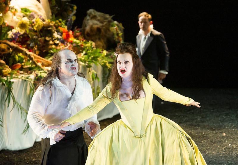 'Saul' Opera performed at Glyndebourne Opera, E Sussex, UK