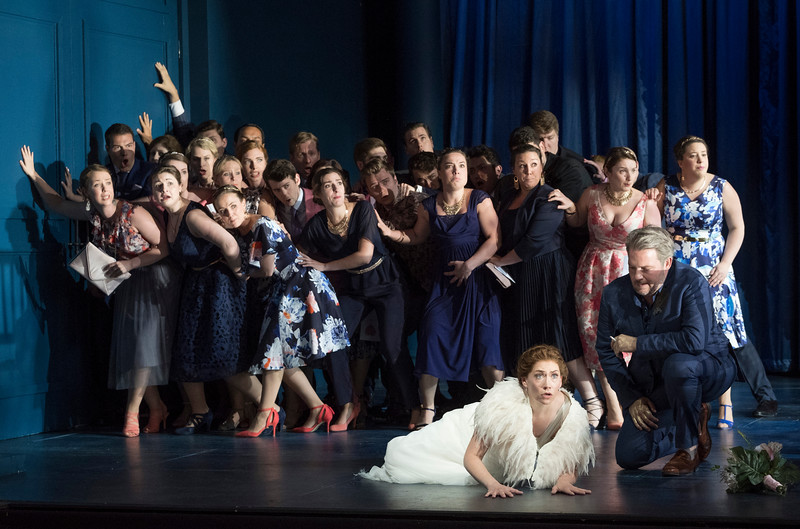 Semele performed at Garsington Opera at Wormsley, Oxfordshire, UK