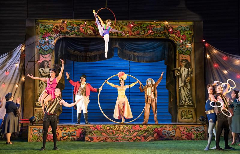 'The Bartered Bride' Opera performed at Garsington Opera,Wormsley, UK