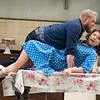 'The Bartered Bride' Opera performed at Garsington Opera,Wormsley, UK