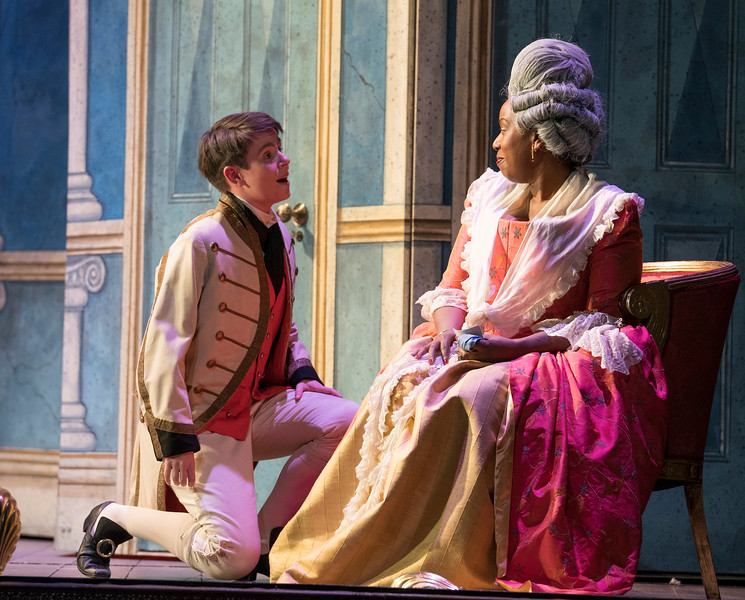 'The Marriage of Figaro' Opera performed by English Touring Opera at the Hackney Empire, London, UK