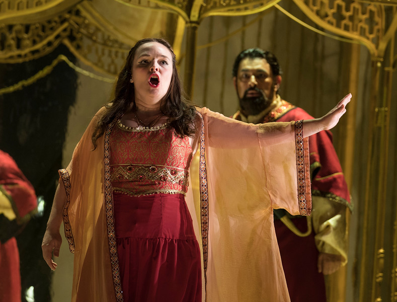 'The Seraglio' Opera performed by English Touring Opera at the Hackney Empire Theatre, London, UK