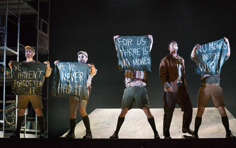 'The Silver Lake' Opera performed by English Touring Opera at Hackney Empire Theatre, London, UK