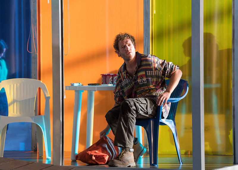 'The Skating Ring' Opera by David Sawer performed by Garsington Opera at Wormsley, UK