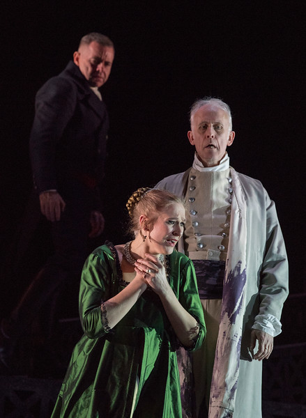 'Tosca' Opera performed by english Touring Opera at Hackney Empire Theatre, London, UK