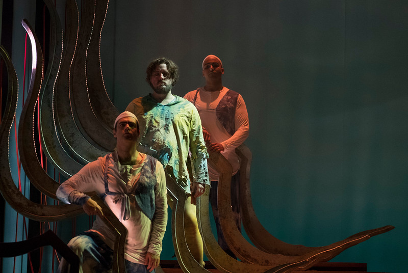 'Ulysses' Homecoming' Opera performed by English Touring Opera at Hackney Empire Theatre, London, UK