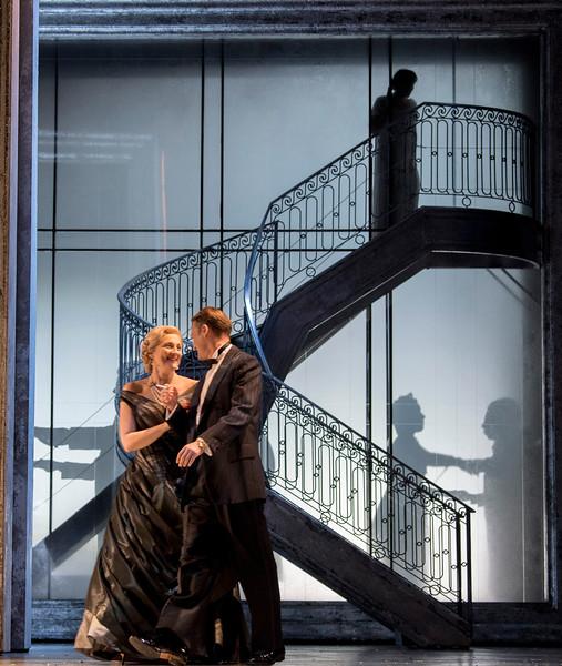 'Vanessa' Opera by Samuel Barber performed by Glyndebourne Opera, East Sussex, UK