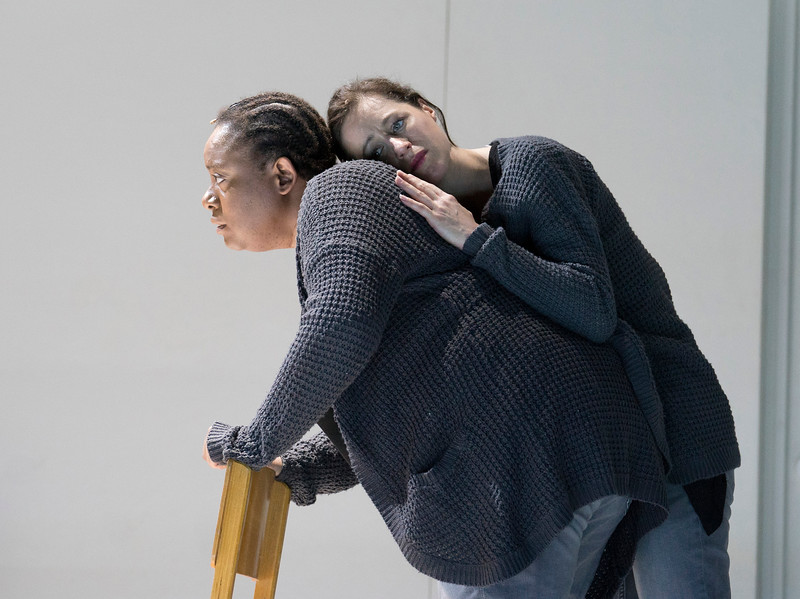 '4.48 Psychosis' Opera by Philip Venables and Sarah Kane performed by the Royal Opera Company at the Lyric Theatre, Hammersmith, London, UK