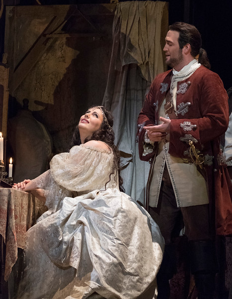 'Adriana Lecouvreur' Opera performed at the Royal Opera House, London, UK