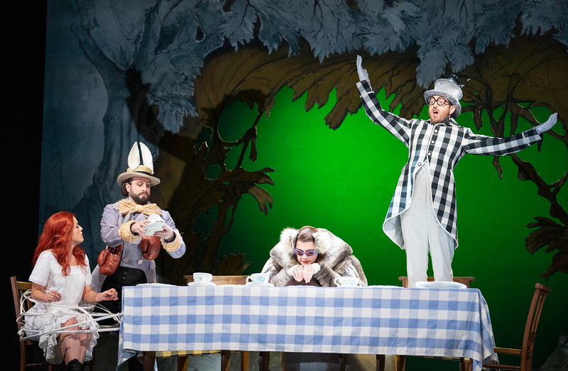 'Alice's Adventures Under Ground' Opera performed at the Royal Opera ouse, London, UK