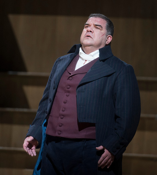 'Andrea Chenier' Opera Performed at the Royal Opera House, London, UK