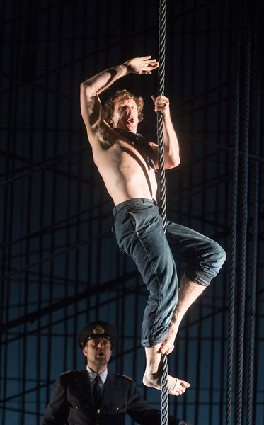 """'Billy Budd"""" Opera by Bemjamin Britten performed by the Royal Ballet at the Royal Opera House, London, UK"""