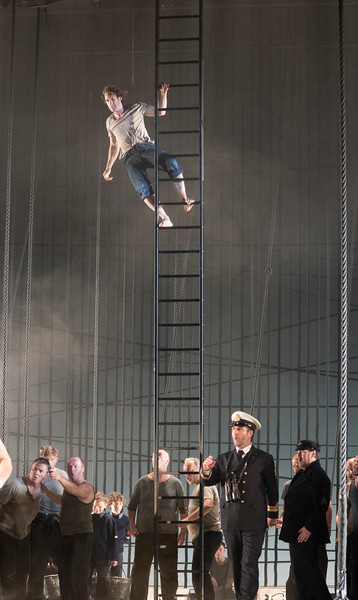 "'Billy Budd"" Opera by Bemjamin Britten performed by the Royal Ballet at the Royal Opera House, London, UK"