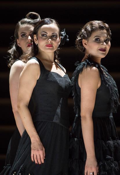 'Carmen' Opera performed at the Royal Opera House, London, UK