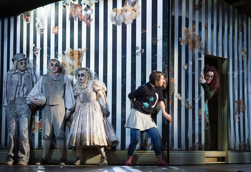 'Coraline' Opera by Mark-Anthony Turnage performed by the Royal Opera at the Barbican Theatre, London, UK