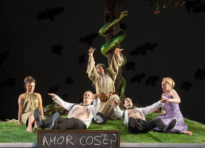'Cosi Fan Tutti' Opera performed at the Royal Opera House, London, UK