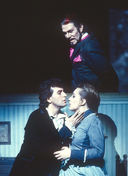 'Damnation of Faust' Opera performed at the Royal Opera House, London, UK 1993