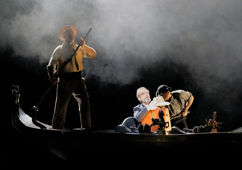 'Death in Venice' Opera by Benjamin Britten performed at the Royal Opera House, London, UK