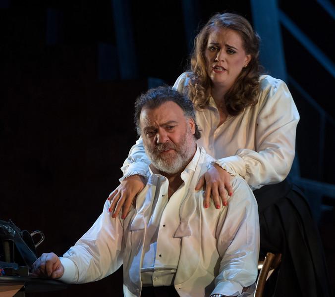 'Die Meistersinger von Nurnberg' Opera performed at the Royal Opera House, London,UK
