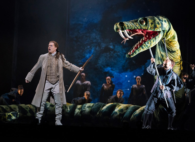 'Die Zauberflote' Opera performed at the Royal Opera House, London, UK
