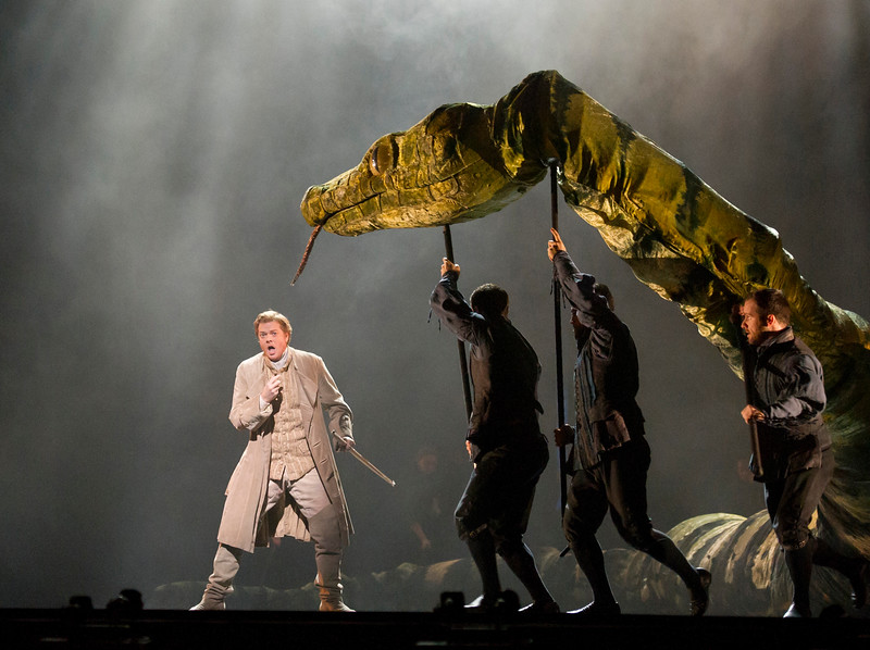 'Die Zauberflote' Opera performed at the Royal Opera House, London,UK